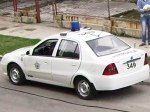 Foto ampliada del auto policial