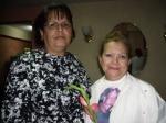 Laura Pollán, esposa del prisionero político Héctor Maseda y yo
