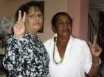 Reina Tamayo, madre del mártir Orlando Zapata y yo