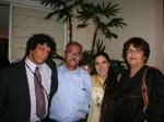 Reinaldo (esposo de Yoani), Rafa (mi esposo), Yoani y yo.