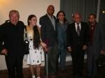 El Padre Conrado, Yoani, Coco Farinas, Henri Constantín, Dagoberto Valdés y el Rev. Mario Lleonart